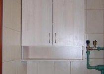 Навесной шкафчик в туалет