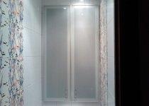Шкаф в туалет в алюминиевом профиле