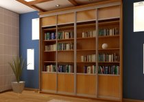 Книжные шкафы Вишня Оксфорд