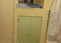 Двери для ванны в нишу