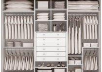 Наполнение гардеробного шкафа купе