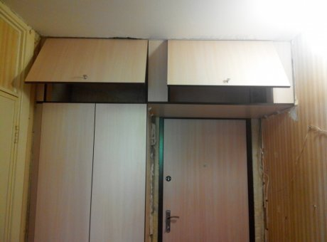 Навесные полки шкафы